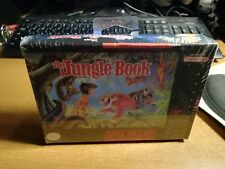 SNES SUPER NINTENDO THE JUNGLE BOOK SEALED MISB USA VERSION VINTAGE RETROGAMES
