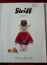 Steiff Collection 2008 Xmas Magazine Catalog Guide Teddy Bears Button In Ear