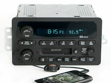 Chevy Impala Malibu Monte Carlo 2000-05 Radio AMFM Cassette w Aux Input 09394139
