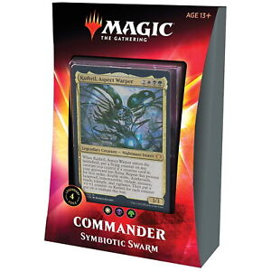 Magic the Gathering - MTG - Commander - Symbiotic Swarm - ENGLISH!