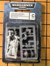 40k Rare oop Blister Vintage Metal Librarian in Power Armor with Force Staff NIB