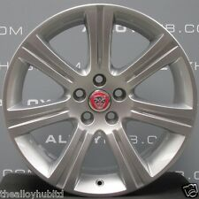 "GENUINE JAGUAR XF X250 VENUS CROMODORA 7 SPOKE 8.5J 18""INCH ALLOY WHEEL X1"