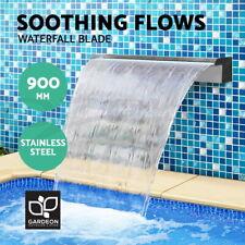 Gardeon Water Feature Waterfall Stainless Steel Blade Fountain Spillway 90cm