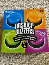 Learning Resources Answer Buzzers, Set Of 4 99% NEW