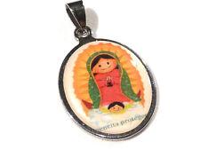 Bijou acier inoxydable pendentif Vierge russe No 14 pendant