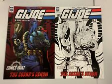 IDW G.I. JOE : A REAL AMERICAN HERO #256 : 2 COVERS BUNDLE : NM CONDITION