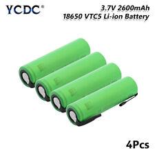 High Drain 30A Original US18650VTC5 18650 Battery 3.7V 2600mAh For Toys 4Pcs F4