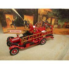 FORD MODEL T FIRE ENGINE 1916 POMPIERS MATCHBOX YFE22-M 1:43