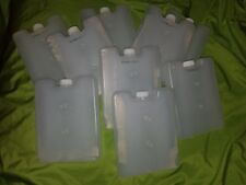 REUSABLE REFILLABLE ICE PACK FLASKS; aprox' 600ml or 20 fl.oz. Lots of 9 Sports