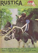 Rustica 27 07/07/1957 Vache frisonne pie noire
