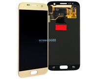 Lcd Display Touch Screen Schermo Vetro Per Samsung Galaxy S7 SM-G930F G930 Oro