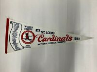 1982 St. Louis Cardinals National League Champs World Series Banner / Pennant