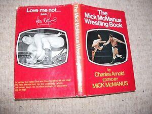 Mick McManus Wrestling Book (British wrestling, Kendo Nagasaki, Jackie Pallo)