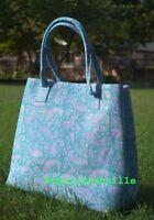 Cotton Women Beautiful Satchel Purse Lady Indian Mandala Tote Bag Block Printed