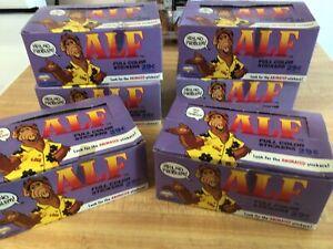 1987 ALF Sticker Wax Box Lot Of ( 6 )