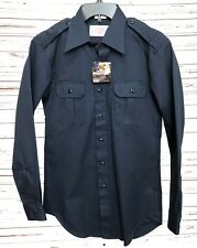 NWT Propper Ripstop BDU Shirt Long Sleeve Law Security Tactical Navy Small