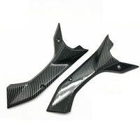 For Yamaha YZF R6 2017-2020 Carbon Fibre Side Air Duct Cover Fairing Insert Part