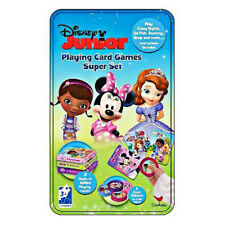 Disney Junior Playing Card Games Super Set Collectible Tin New Sealed Cardinal