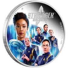 Tuvalu - 2 Dollar 2019 - Star Trek™ Discovery Crew - 2 Oz Silber PP
