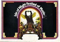 Bob Dylan The Who Free Isle Of Wight Festival Program Inc. Fender Advert 1969