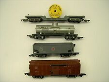 Lot of 4 American Flyer Link Coupler Freight Cars [Lot UU12-F21]