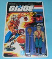 1987 GI Joe Cobra Big Boa Figure Complete Sealed MOC *CUSTOM* Card Back *READ*