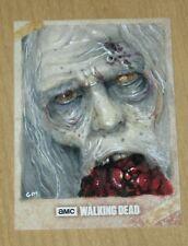 2017 Topps Walking Dead Season 6 SKETCH card 1/1 Chris Meeks WALKER