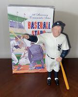 BABE RUTH NEW YORK YANKEES HARTLAND Plastics Baseball Statue 1988 25 Anniversary