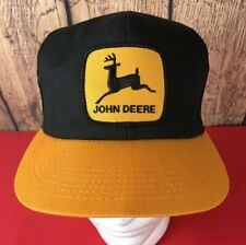269ba35c97e2f Vintage John Deere Patch Snapback Trucker Hat Cap 70s 80s K PRODUCTS DEAD  STOCK