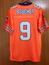Bobby Boucher #9 The Waterboy Football Jersey Adam Sandler Orange All stitched