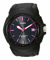 Casio Women's Quartz 100m Black Stainless Steel/Resin Watch LX610-1A2
