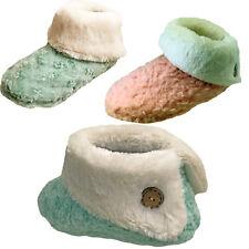 Zapatillas para mujer caliente Botas Botines Damas Chicas Zapatilla Interior Talla 5 6 7 8
