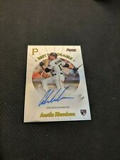 Austin Meadows 2018 Bowman's Best Best Performers Auto Tampa Bay Rays 74/100