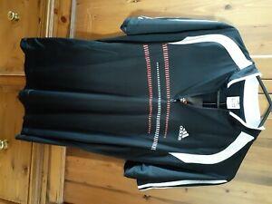 Adidas mens polo shirt with zipper