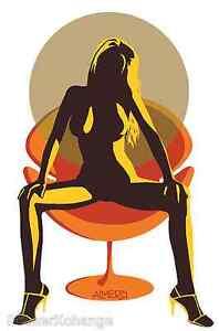 Hot Seat Sticker Decal Poster Artist Marco Almera MA21