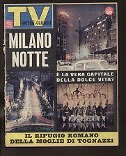 SORRISI CANZONI 10/64 LA FIERA DI NEW YORK BOXE LISTON CLAY ZECCHINO D'ORO
