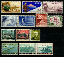 JAPAN 1956 -1961 nice COMMEMORATIVE  issues - 10  mint sets/issues - MNH