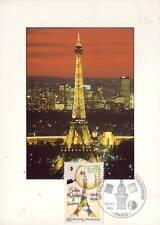 3000+ FDC CARTE 1er JOUR SALON PHILATELIQUE TOUR EIFFEL