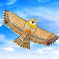 Riesige 1,1m Eagle Kite Einzellinie Neuheit Animale Kinder Outdoor-Spielzeug