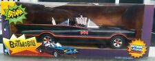 "MATTEL TOYS R US EXCLUSIVE 18"" CLASSIC BATMOBILE WITH BATMAN & ROBIN FIGURES NEW"