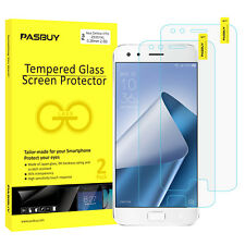 PASBUY 2 Pack Premium Tempered Glass Screen Protector for Asus ZF4 Pro ZS551KL