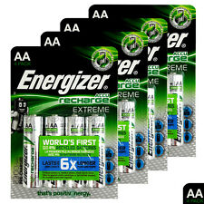 16 x Energizer Rechargeable AA batteries Accu Recharge Extreme NiMH 2300mAh HR6