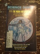 October 1969 Science Digest Magazine Special Section The Moon And Space