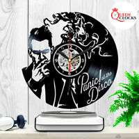 Panic at the Disco Vinyl Record Wall Clock Music LP Home Room Decor Best Gifts