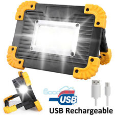 120000lm Led Work Light Car Garage Mechanic Usb Rechargeable Torch Lamp With 18650