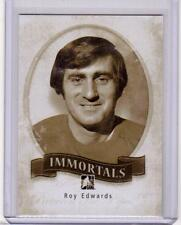 ROY EDWARDS 13/14 ITG Between the Pipes BTP Immortals #I-43 SP Insert Card