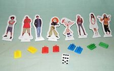 Monopoly Junior Jr Disney Channel 2007 - Tokens and Die  (Parts)   #MJ05