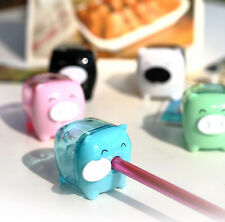 Creative Stationery Cartoon Small Pig Pencil Sharpener School Supplies
