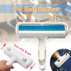 2-Way Pet Hair Remover Roller Lint Cleaning Brush Furniture Easy Self-Cleaning