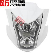 NEW Headlight Fairing Light Lamp Cowling For Kawasaki ER-6N 2012 2013 2014 White